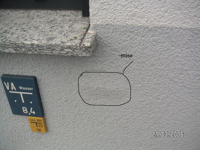 BAU.DE - Bilder zum Forumsbeitrag: Fassade neu verputzen